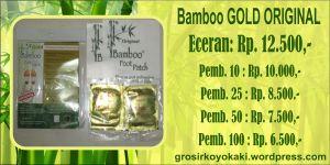 Koyo Kaki Surabaya, Distributor Bamboo Gold Surabaya, Agen Koyo Bamboo Malang, 0812.3365.6355, http://grosirkoyokaki.wordpress.com